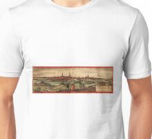 Arras Vintage map.Geography France ,city view,building,political,Lithography,historical fashion,geo design,Cartography,Country,Science,history,urban Unisex T-Shirt