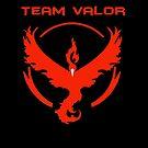 Pokemon Go: Team Valor by Alexandra Russo