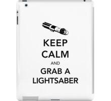 Keep Calm Lightsaber iPad Case/Skin