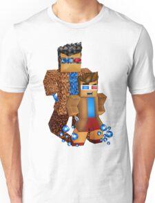 8bit boy with 10th Doctor shadow Unisex T-Shirt