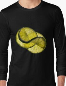 Cool lime twist Long Sleeve T-Shirt