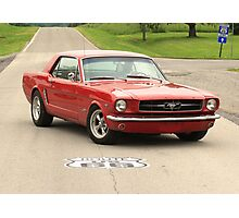 Mustang, Route 66 Photographic Print