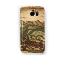 Appenzell Vintage map.Geography Switzerland ,city view,building,political,Lithography,historical fashion,geo design,Cartography,Country,Science,history,urban Samsung Galaxy Case/Skin