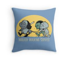 Walker Walking Service Throw Pillow