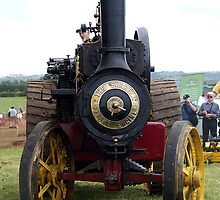 Steam Power - Burrell Tractor by Patricia Howitt