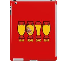 Spain World Cup and European Championship Trophy Cabinet iPad Case/Skin