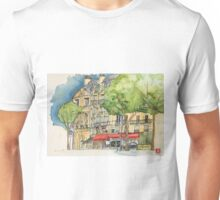 Paris cafe Unisex T-Shirt