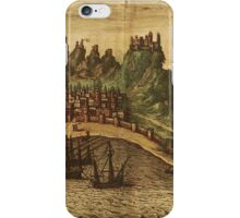 Aden Vintage map.Geography Yemen ,city view,building,political,Lithography,historical fashion,geo design,Cartography,Country,Science,history,urban iPhone Case/Skin