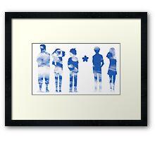 Ano Hana (Sky Ver.) Framed Print