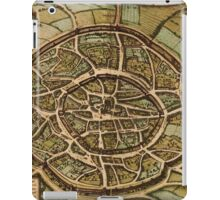 Aachen Vintage map.Geography Germany ,city view,building,political,Lithography,historical fashion,geo design,cartography,Country,Science,history,urban iPad Case/Skin