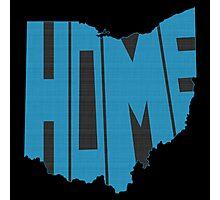 Ohio HOME state design Photographic Print