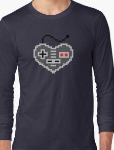 8 Bit Love Long Sleeve T-Shirt