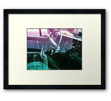 Power steering Framed Print