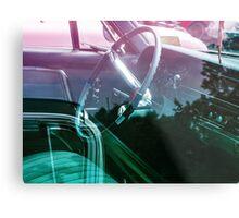 Power steering Metal Print