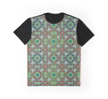 Abstract colorful tiles mosaic painting geometric  Graphic T-Shirt