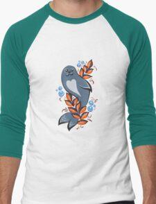 The Seal Men's Baseball ¾ T-Shirt