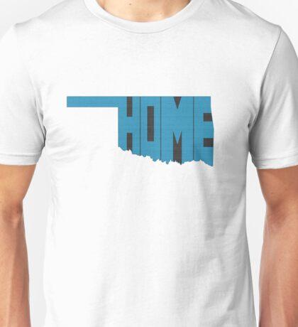 Oklahoma HOME state design Unisex T-Shirt