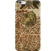 Avignon Vintage map.Geography France ,city view,building,political,Lithography,historical fashion,geo design,Cartography,Country,Science,history,urban iPhone Case/Skin