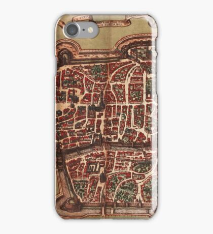 Augsburg Vintage map.Geography Germany ,city view,building,political,Lithography,historical fashion,geo design,Cartography,Country,Science,history,urban iPhone Case/Skin