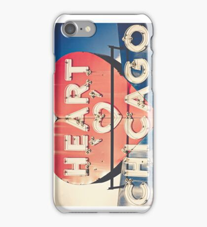 Heart of Chicago iPhone Case/Skin