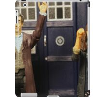 """""""Out of the frying pan and into the fire eh Clara?"""" iPad Case/Skin"""