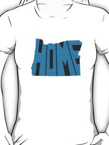 Oregon HOME state design T-Shirt
