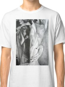 It feels so good to reunite, 2016, 50-70cm, graphite crayon on paper Classic T-Shirt
