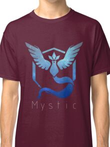 Team Mystic Galaxy Print - Thin Text (Pokemon Go) Classic T-Shirt