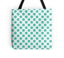Aqua Dots Tote Bag