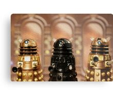 """The Daleks reign supreme!"" Metal Print"