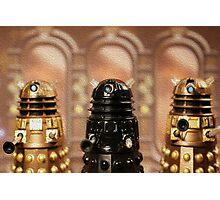 """The Daleks reign supreme!"" Photographic Print"