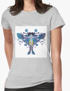 Birdterfly rider Womens Fitted T-Shirt