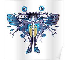 Birdterfly rider Poster