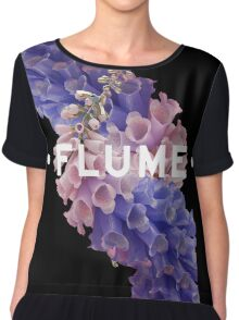 flume skin - black Chiffon Top