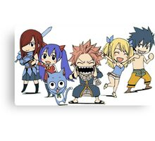 fairytails strongest team  Canvas Print