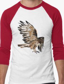 Flying Hawk Men's Baseball ¾ T-Shirt