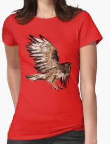 Flying Hawk Womens Fitted T-Shirt