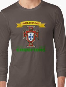 Euro 2016 Football - Team Portugal Long Sleeve T-Shirt