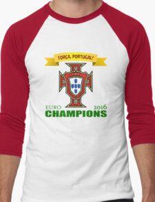 Euro 2016 Football - Team Portugal Men's Baseball ¾ T-Shirt