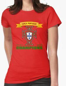 Euro 2016 Football - Team Portugal Womens Fitted T-Shirt