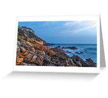 Atlantic Ocean Shores in Dakar, Senegal Greeting Card