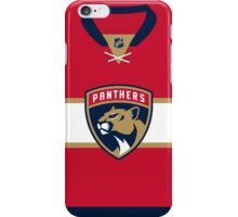 Florida Panthers Home Jersey iPhone Case/Skin