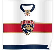 Florida Panthers Away Jersey Poster