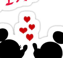 Minnie & Mickey Sticker