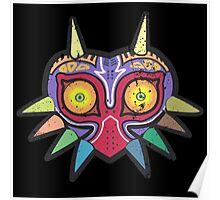 Majora's Mask (distressed) Poster