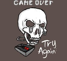 Game Over. Try Again? Unisex T-Shirt