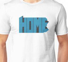 Pennsylvania HOME state design Unisex T-Shirt