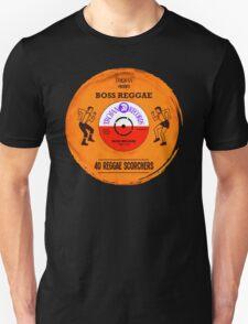 "TROJAN RECORDS VINYL "" BOSS REGGAE "" Unisex T-Shirt"