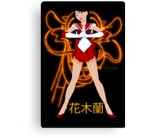Mulan Sailor Scout Canvas Print