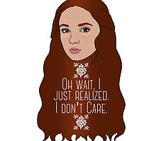 Sansa Don't Care by stephaniecshank